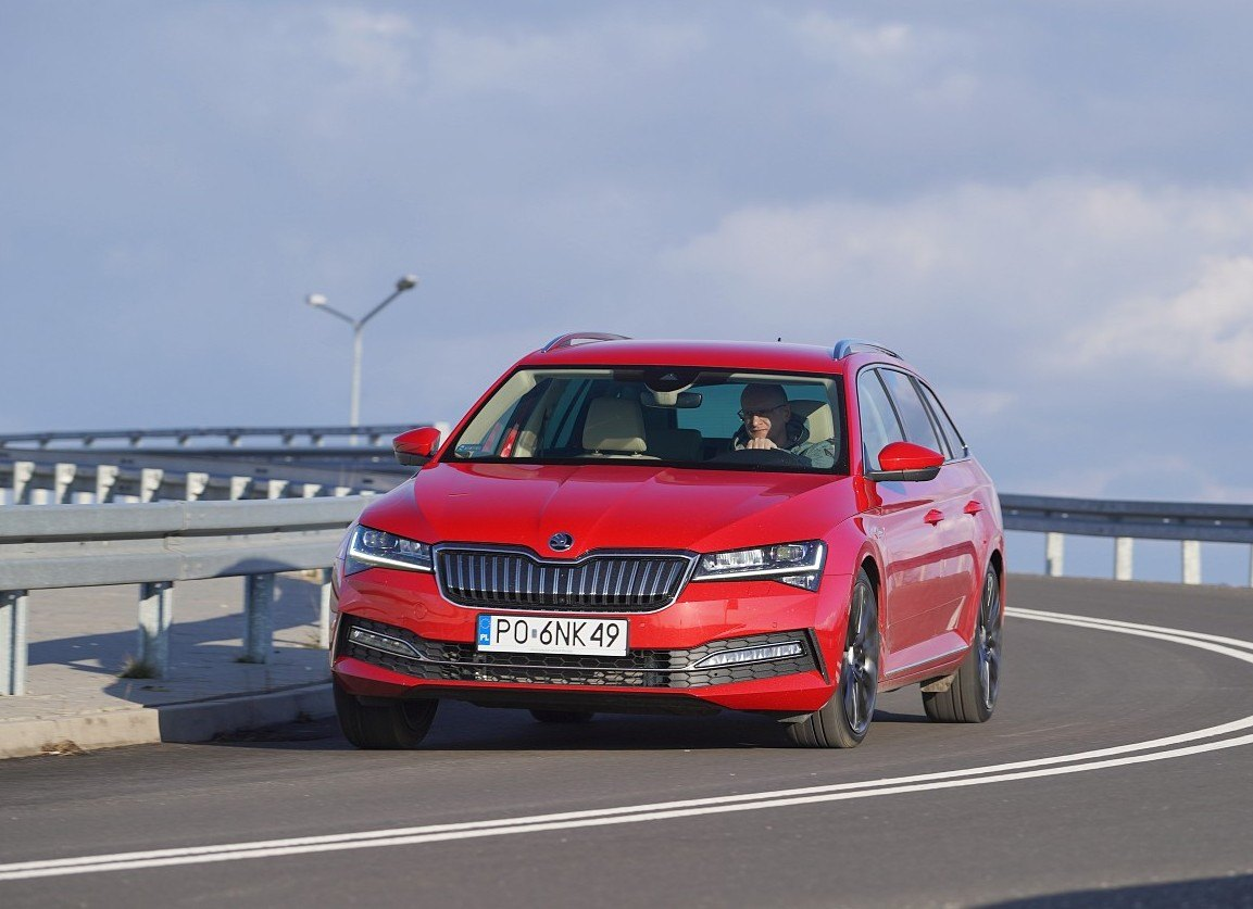 skoda superb iv combi 2020 test przód