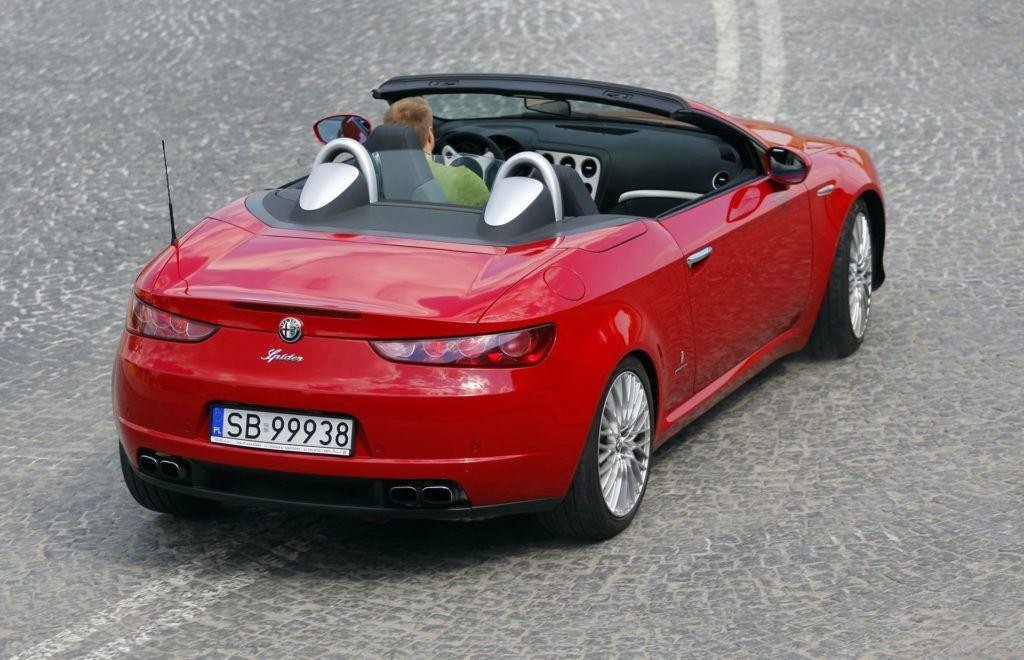 ALFA ROMEO Spider III 3.2JTS V6 260KM 6AT Pininfarina SB99938 04-2008