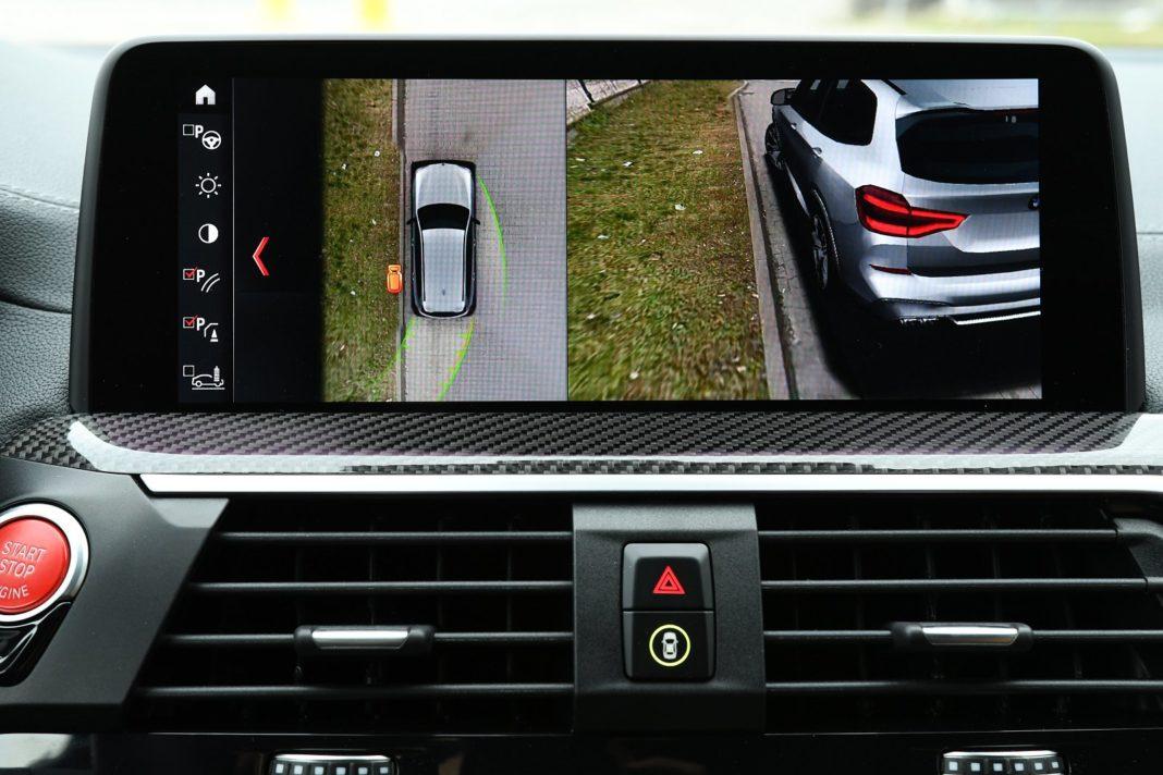 BMW X3 M (2020) - kamery parkowania