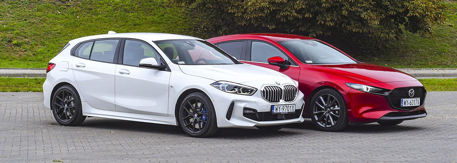 BMW 118i, Mazda 3