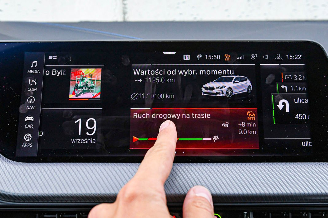 BMW serii 1 - ekran centralny
