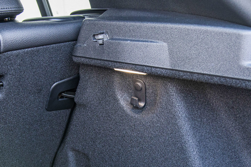 BMW serii 1 - bagażnik