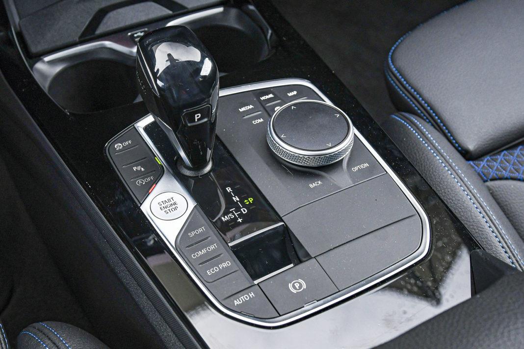 BMW serii 1 - konsola środkowa