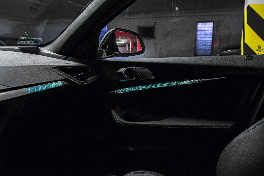 BMW serii 1 - oświetlenie nastrojowe