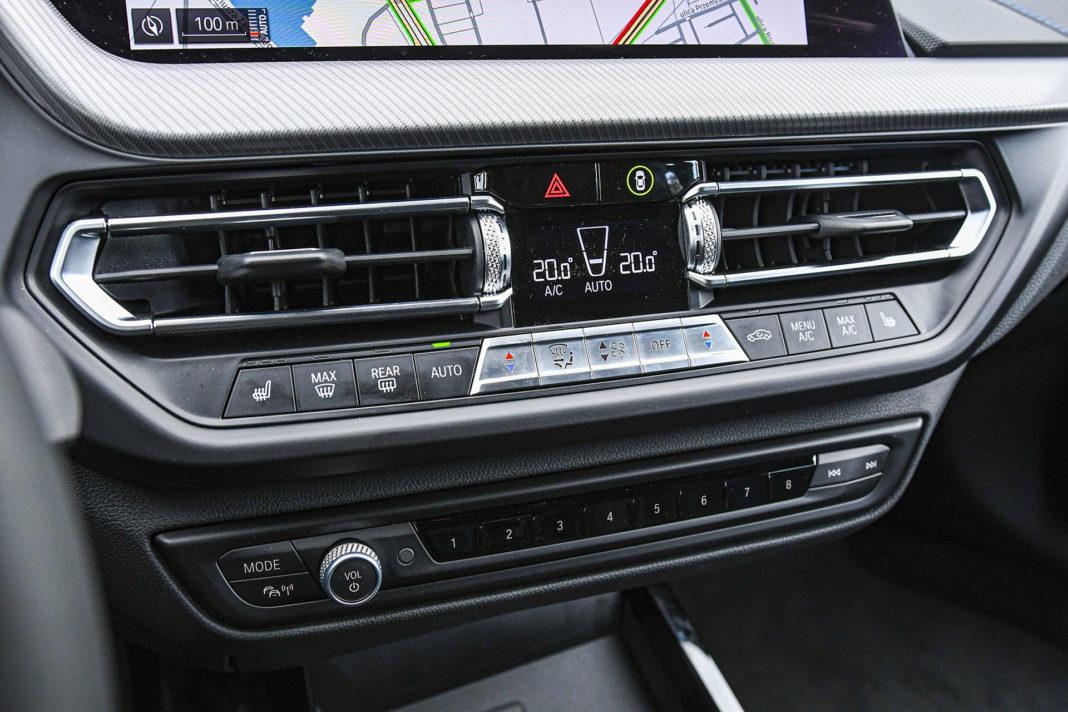 BMW serii 1 - panel klimatyzacji