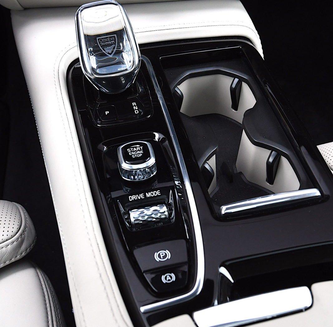 Volvo S90 T8 eAWD Inscription - tryby jazdy