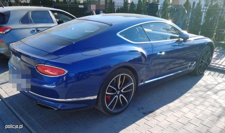Kradzież Bentleya
