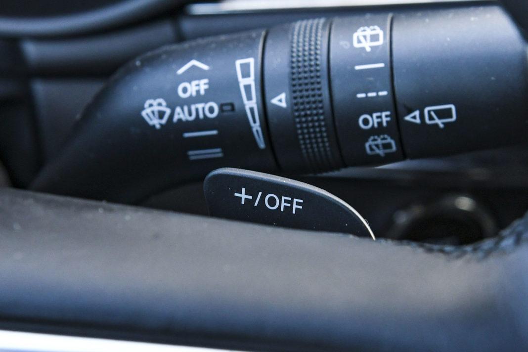 Mazda 3 - łopatki do zmiany biegów