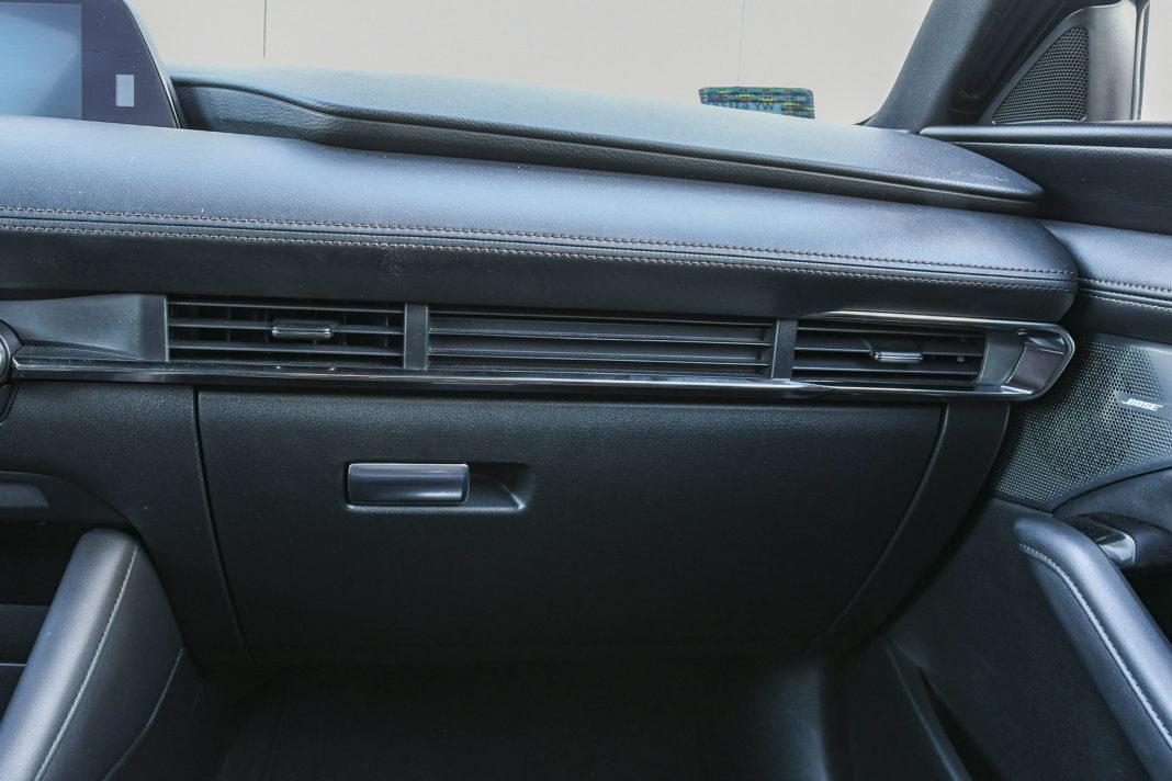 Mazda 3 - nawiewy