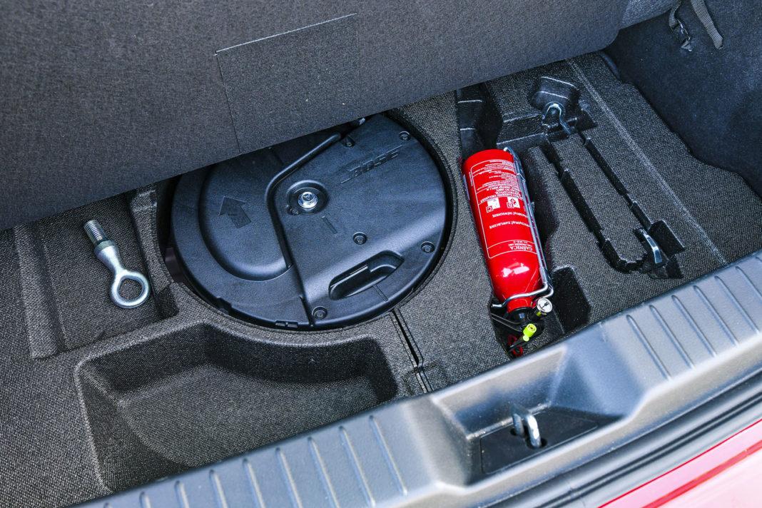 Mazda 3 - bagażnik