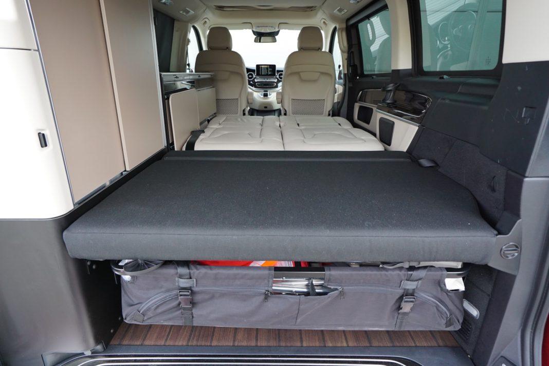Mercedes Marco Polo - bagażnik