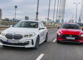 BMW serii 1, Mazda 3 - PORÓWNANIE