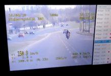 Policja - nagranie motocyklisty