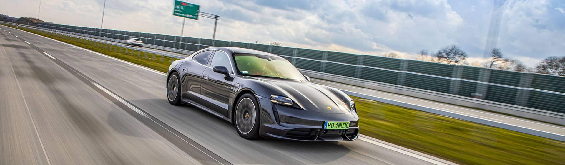Przód Porsche Taycan – Test Porsche Taycan Turbo