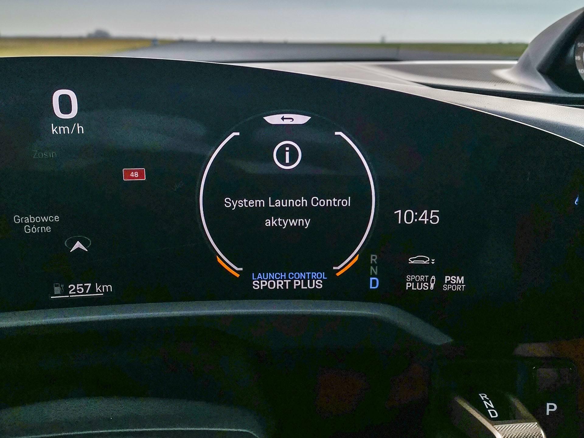 Launch control Porsche Taycan – Test Porsche Taycan Turbo
