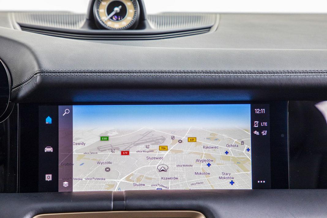 Mapa Porsche Taycan – Test Porsche Taycan Turbo