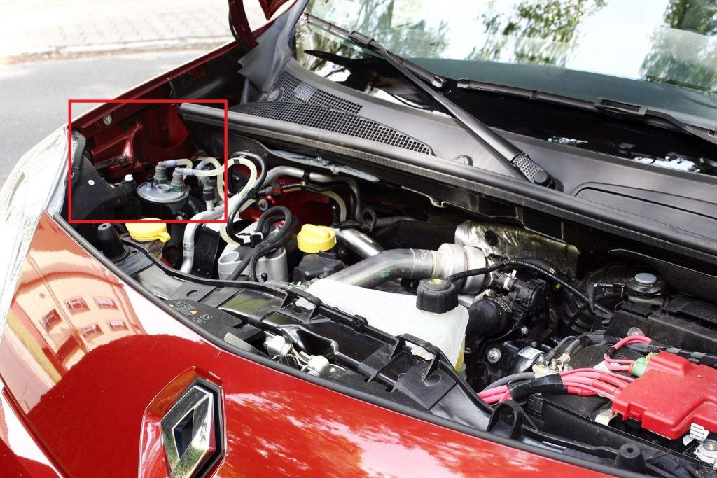 Renault Kangoo II - numer VIN