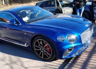 Zostawił kluczyki w aucie. Stracił Bentleya za 1,5 mln zł!
