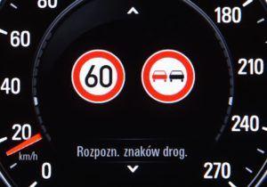 Rozpoznawanie znaków drogowych