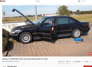 Czy porzucone na 5 lat BMW odpali bez problemu?