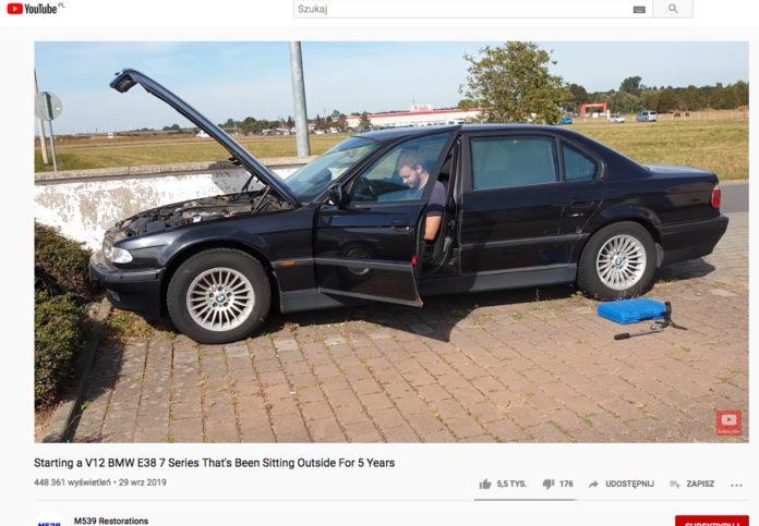 Uruchamianie BMW po 5 latach