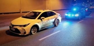 Uszkodzony samochod