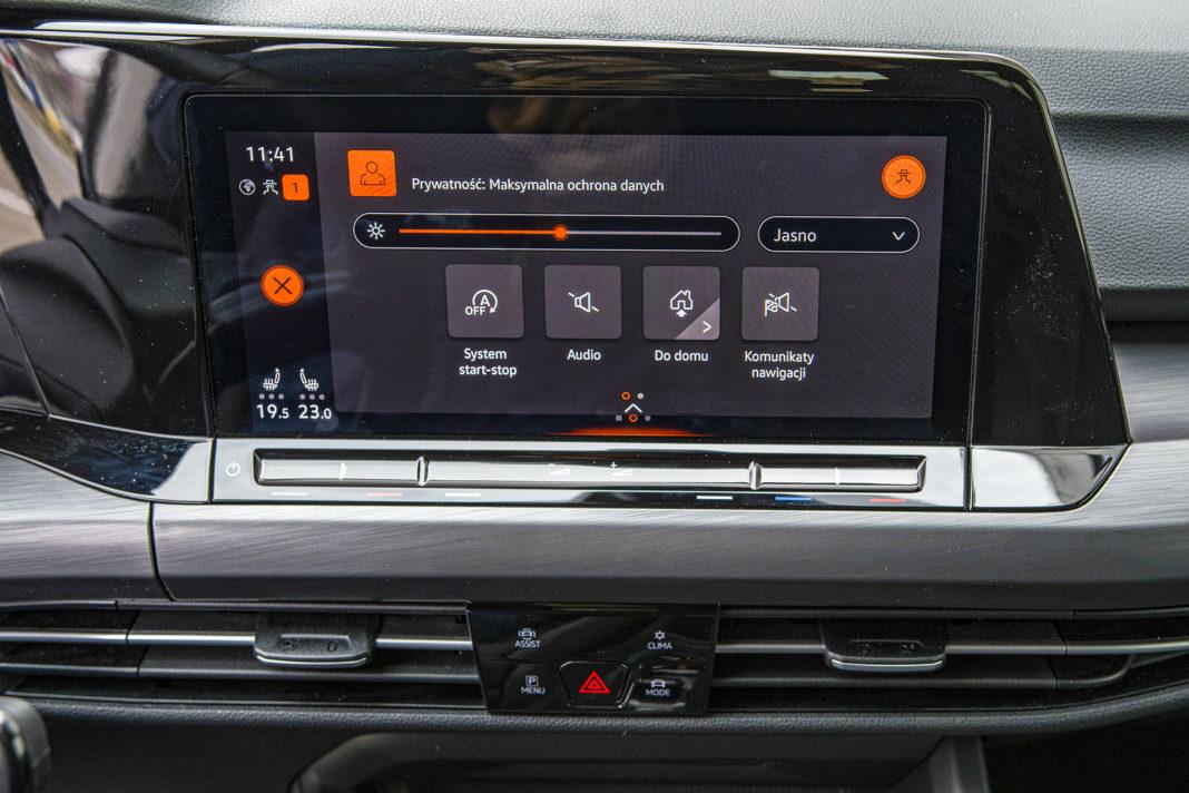Volkswagen Golf 1.5 eTSI EVO DSG Style - ustawienia