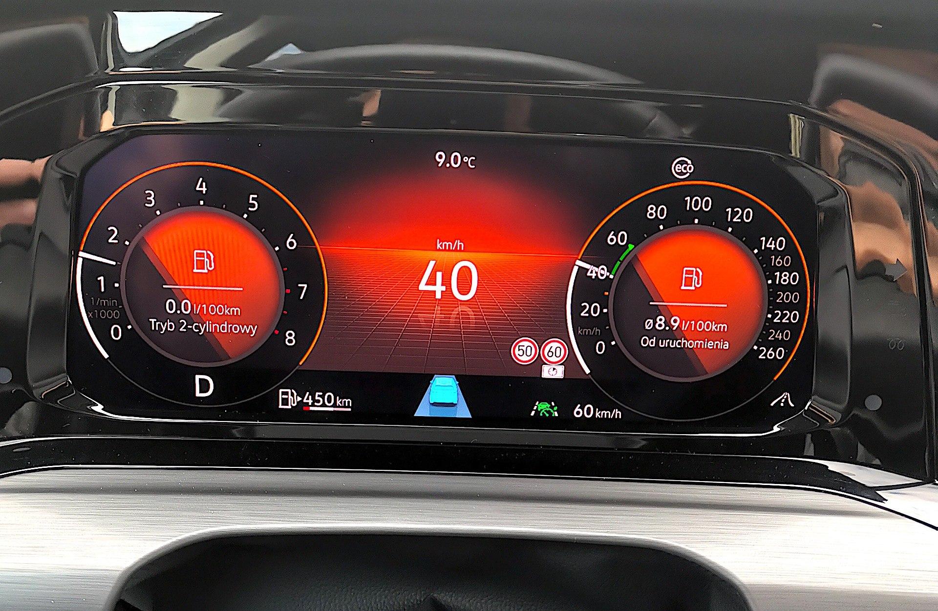 Volkswagen Golf 1.5 eTSI EVO DSG Style - ekran