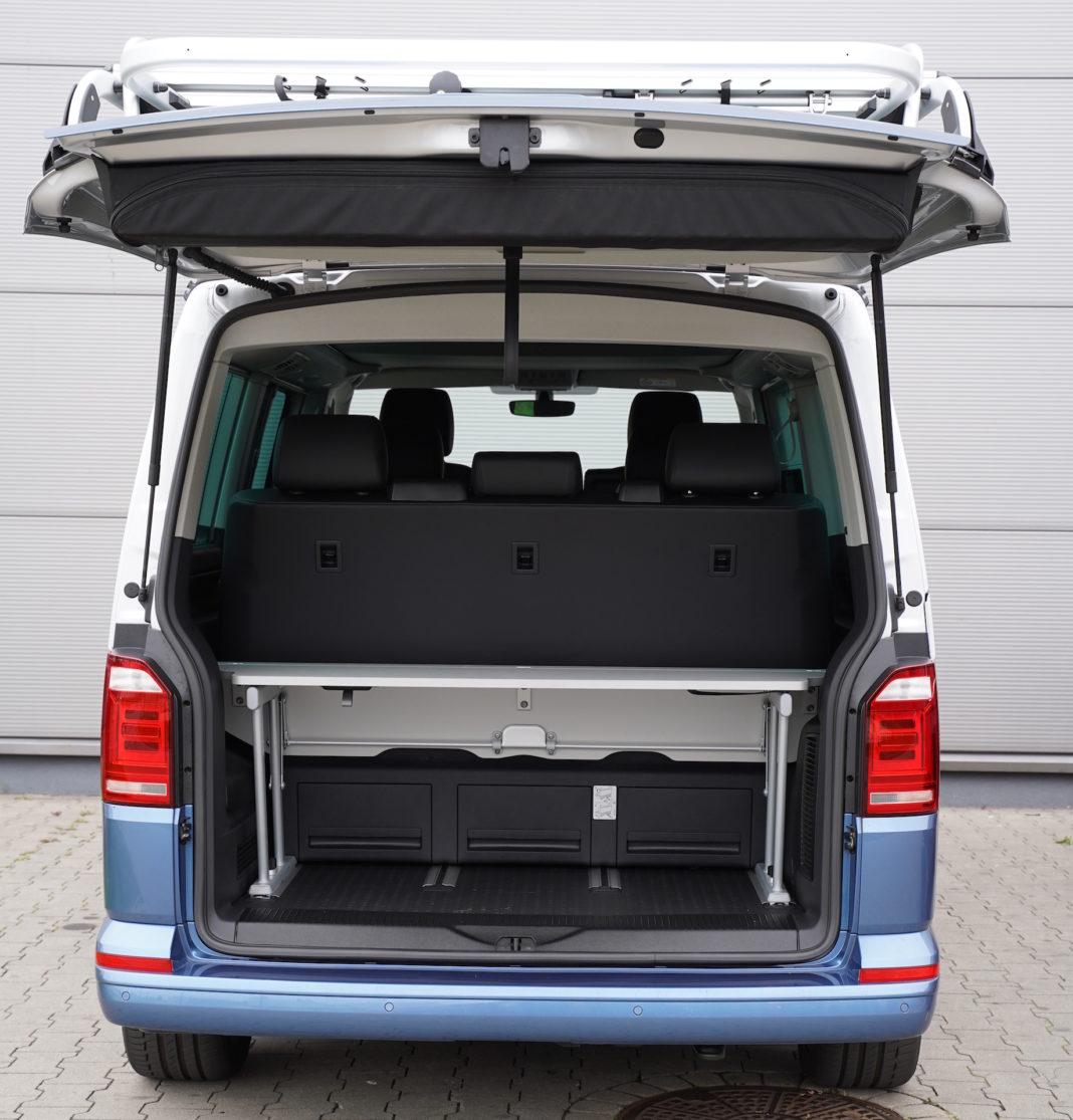 Volkswagen California - bagażnik