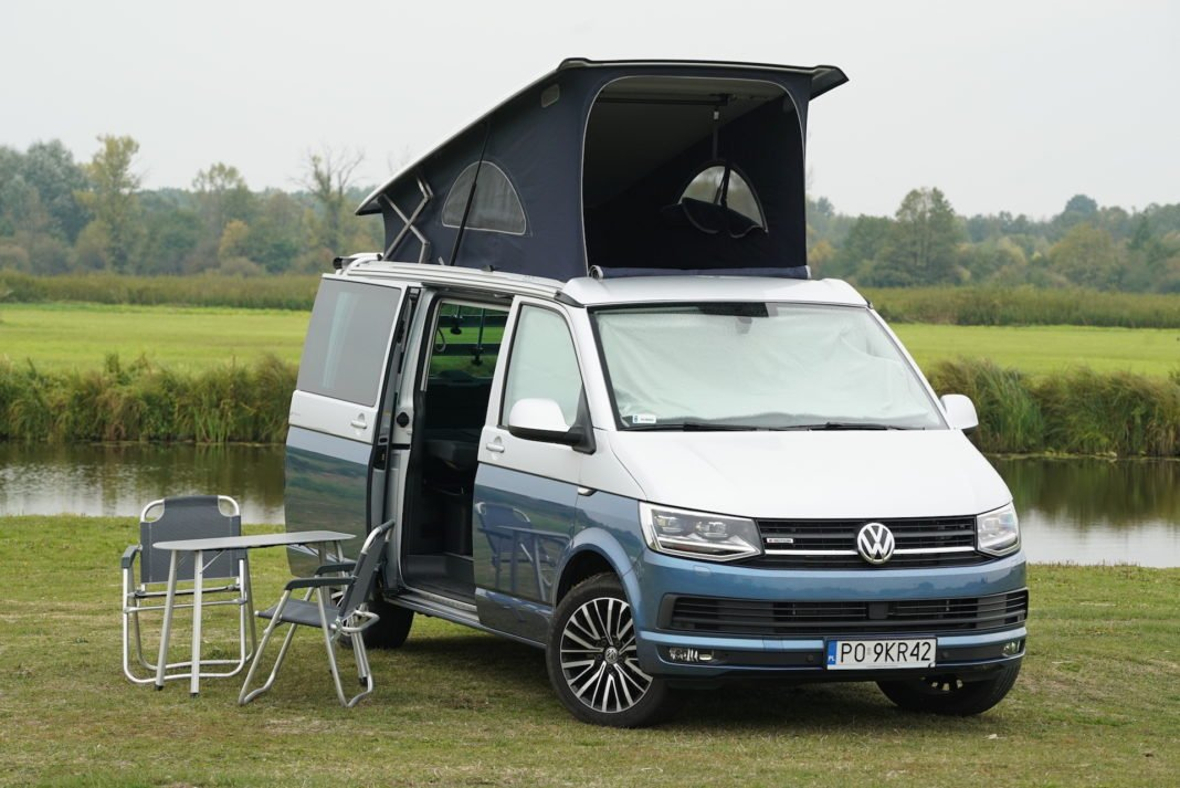 Volkswagen California - kemping