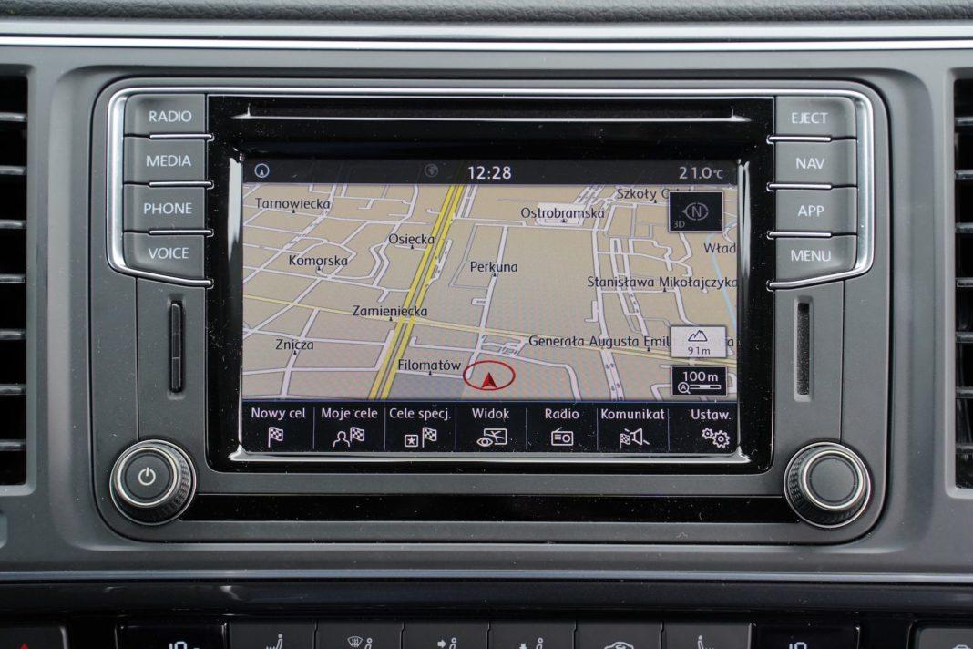 Volkswagen California - nawigacja22