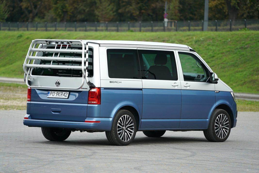 Volkswagen California - tył