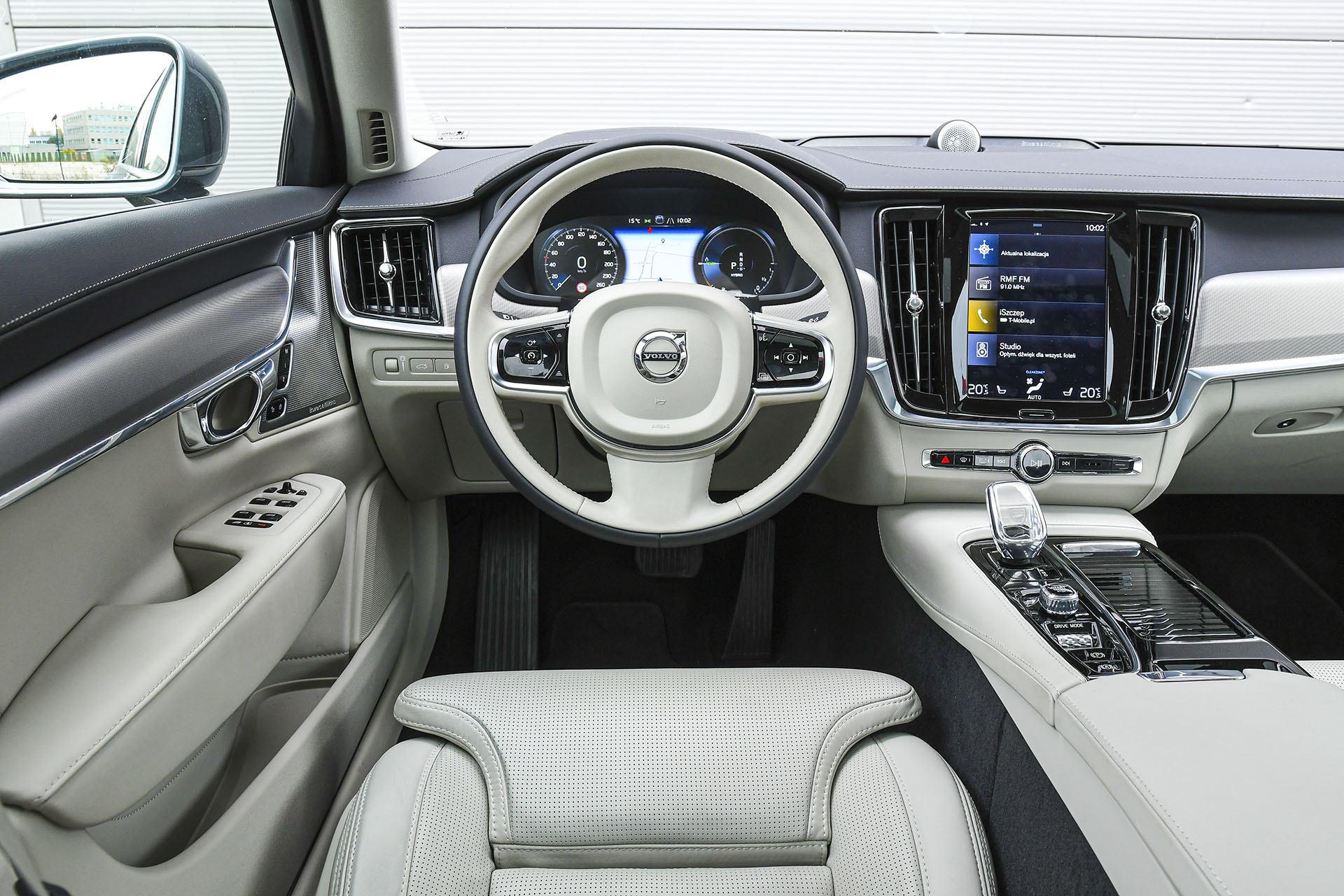 Volvo S90 - wnętrze - Volvo S90 T8 eAWD Inscription