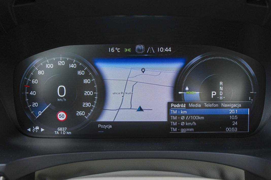 Volvo S90 T8 eAWD Inscription - zegary