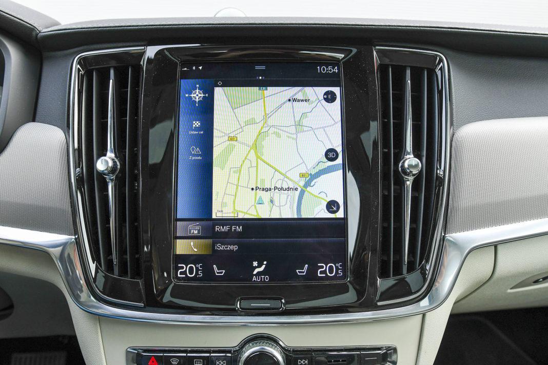 Volvo S90 T8 eAWD Inscription - nawigacja