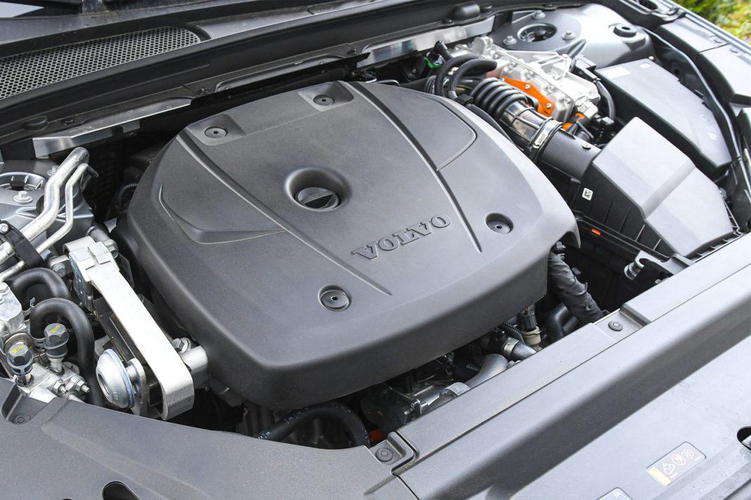 Volvo S90 T8 eAWD Inscription - silnik benzynowy