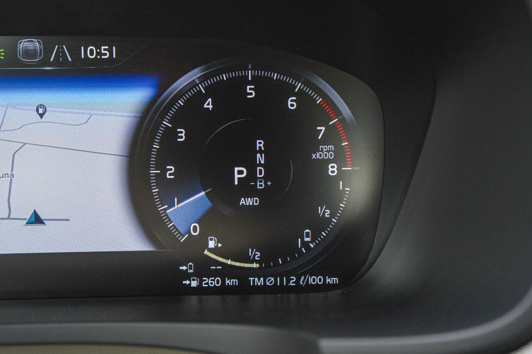 Volvo S90 T8 eAWD Inscription - obrotomierz