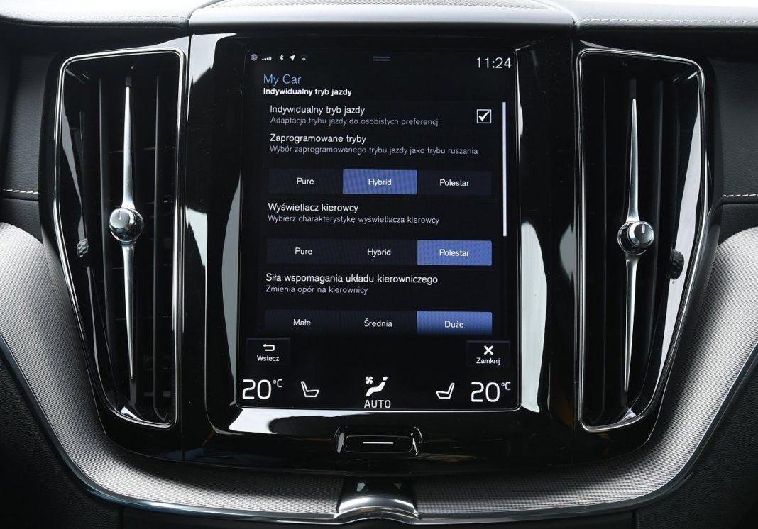 Volvo XC60 T8 Polestar Engineered (2020) - tryby jazdy 01