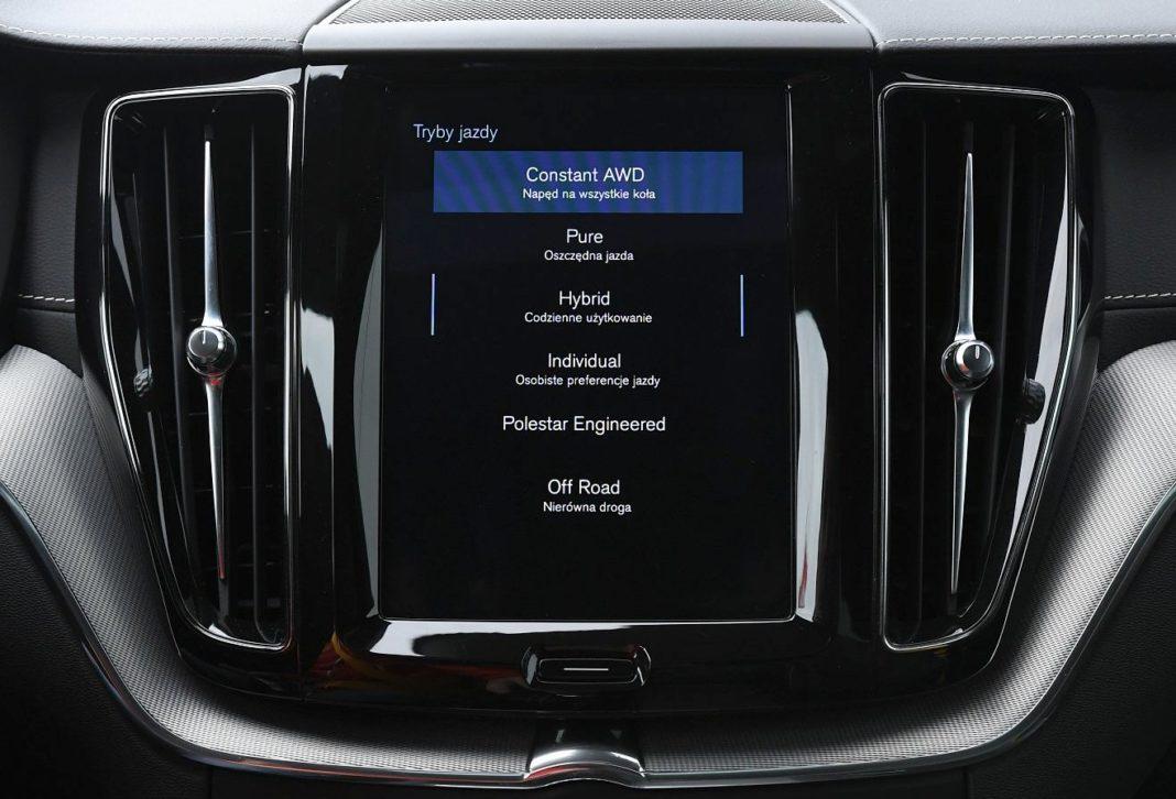 Volvo XC60 T8 Polestar Engineered (2020) - tryby jazdy 02