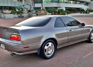 Acura Legend – 900 tysięcy km bez wymiany sprzęgła!