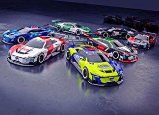 Kierowcy wyścigowi w wirtualnym świecie