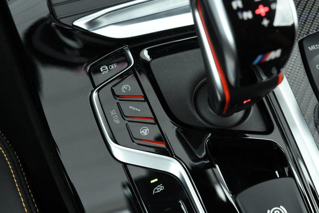 bmw x3 m (2020) tryby jazdy