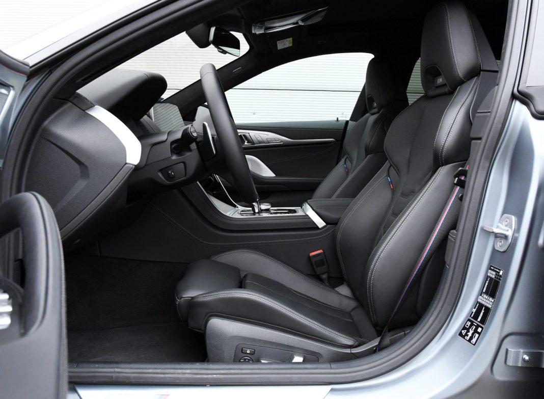 BMW M850i Gran Coupe (2020) - fotele przód