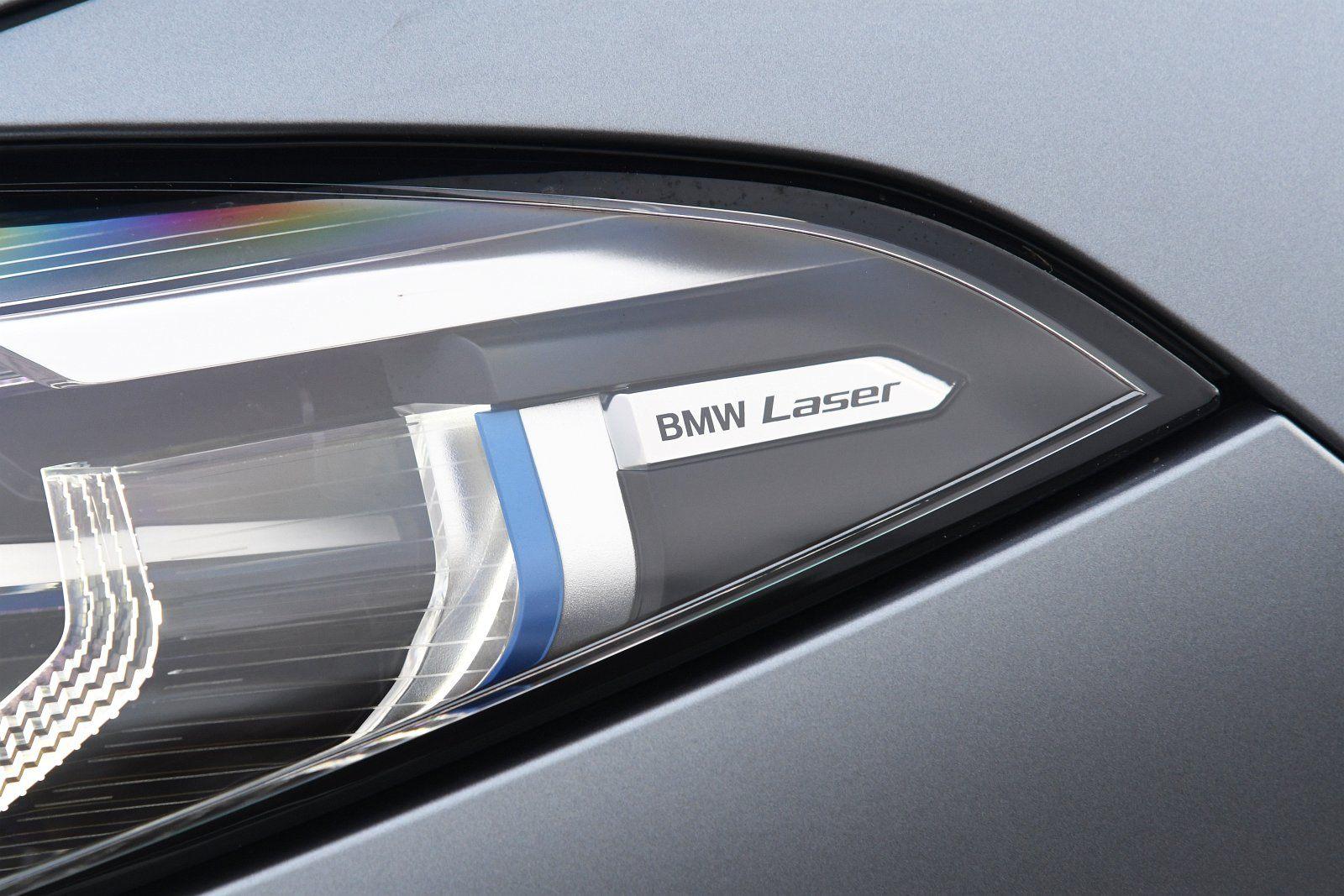 BMW M850i xDrive - reflektor laserowy