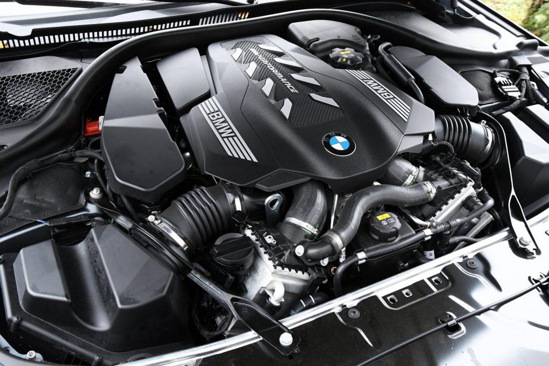 BMW M850i Gran Coupe (2020) - silnik