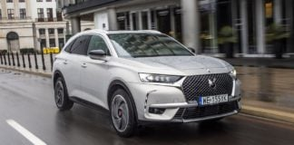DS 7 Crossback E-Tense 4x4 test 2020