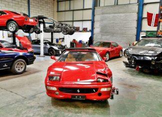 Setki Ferrari rozebranych na części. Co to za miejsce?