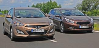 Hyundai i30 - Kia Cee'd