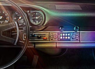 Nowoczesne multimedia w klasycznym Porsche