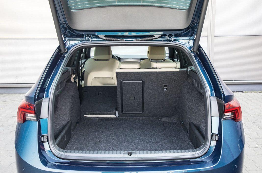 Skoda Octavia Combi 2.0 TDI DSG test 2020 - bagażnik